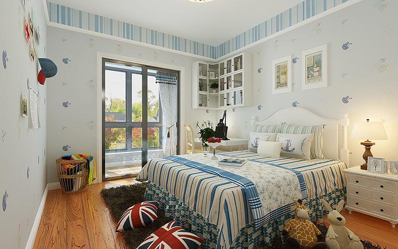 保利罗兰香谷90平美式风格设计方案
