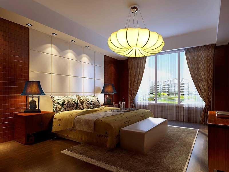 天通苑106平新中式风格设计方案