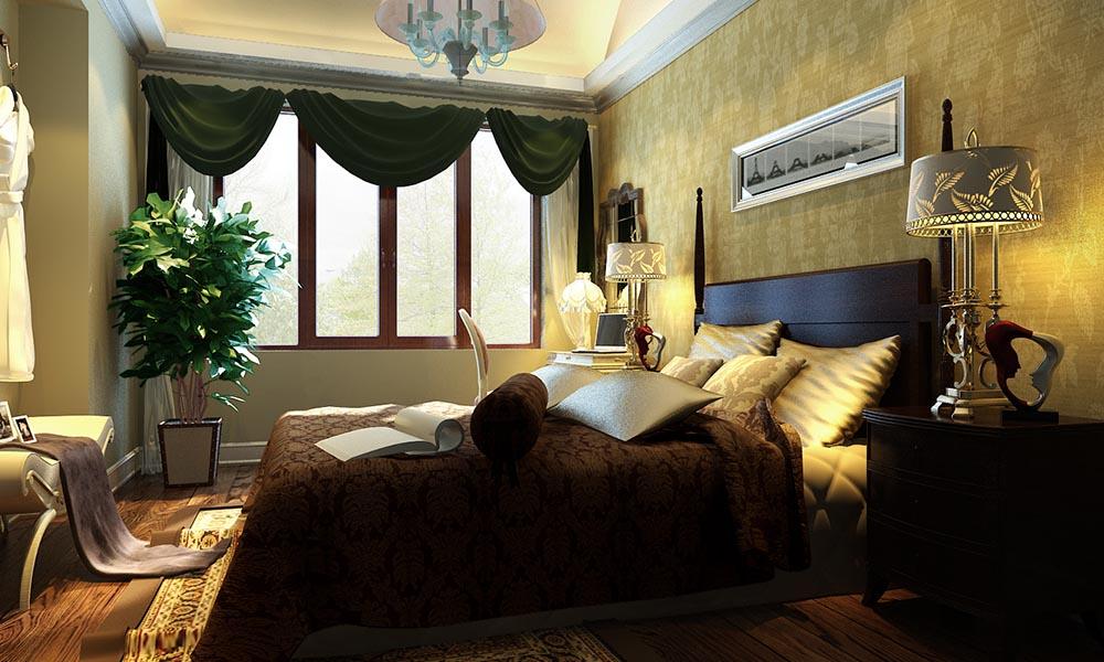 高碑店别墅300平欧式风格设计方案